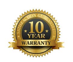 Puredrive Energy 10 Year Warranty