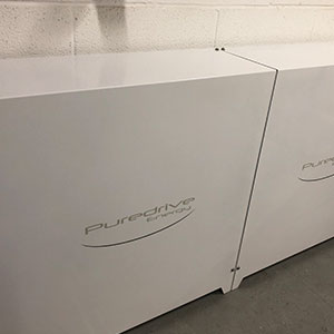 Puredrive Energy Commercial Battery Install